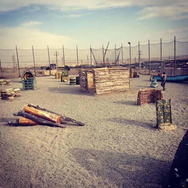 تصویر شماره باشگاه پینت بال البرز
