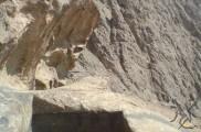 استخر سنگی در ارتفاعات شاه دژ